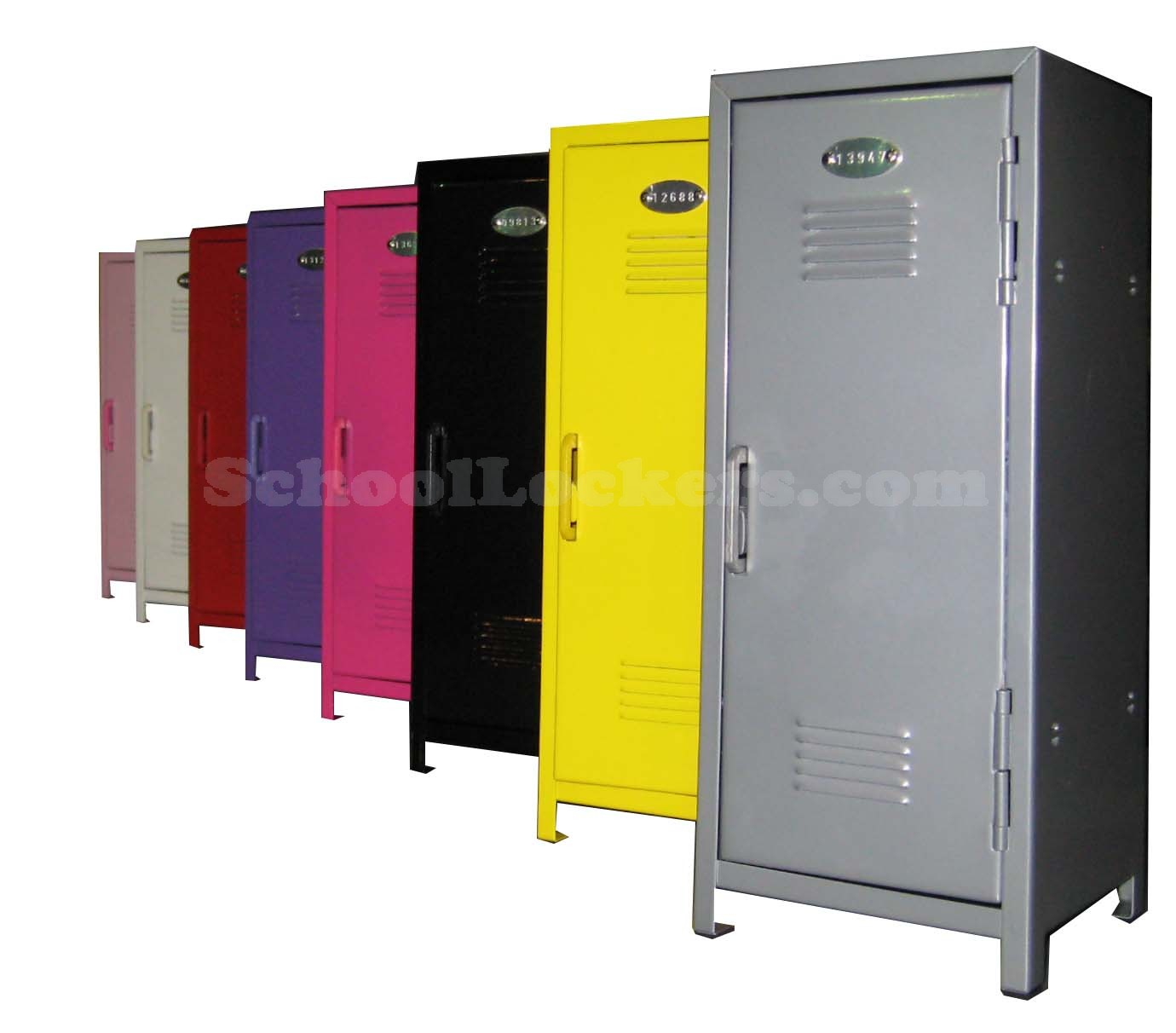 tiny kids locker. Tiny Metal Lockers for Kids   SchoolLockers com