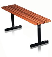 vented wood locker room benches