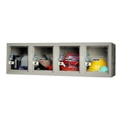 Clear View Four Person Wall Mount