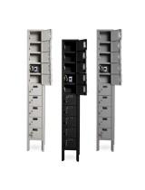 10 Cell Phone Lockers Unit with Key Locks