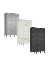 Five Tier Steel Box Locker