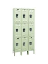 Triple Tier Rust Resistant Lockers