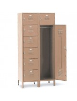 7 Person Office Lockers