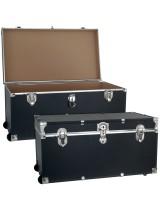 Medium Storage Foot Locker with Wheels