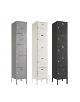 Five Tier Metal Box Locker