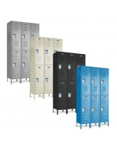 Double Tier Steel Lockers