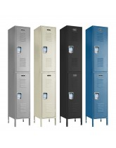 Double Tier Steel Locker