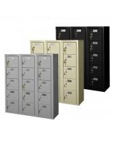 15 Cell Phone Lockers Unit with Key Locks
