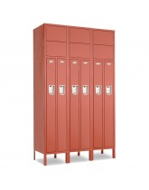 2 Person Office Lockers 3-Wide