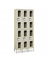 Clear View Double Tier Lockers