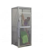 Double Door Wire Mesh Storage Locker Starter Units