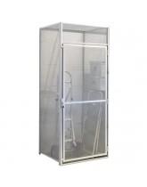 Single Door Wire Mesh Storage Locker Starter Units