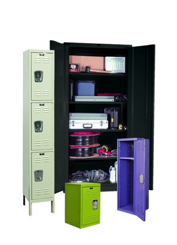 Hallowell Storage Cabinet And Kids Lockers