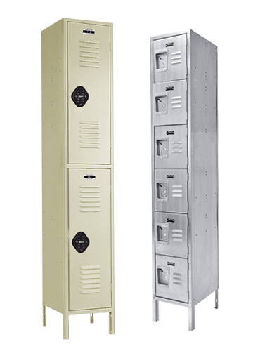 Electronic and Stainless Steel Lockers