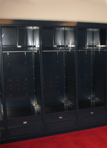 Real Team Room Lockers