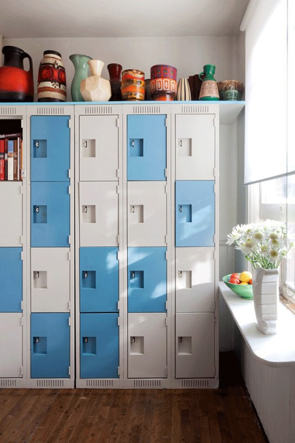 8 ways lockers can help with your spring cleaning. Black Bedroom Furniture Sets. Home Design Ideas