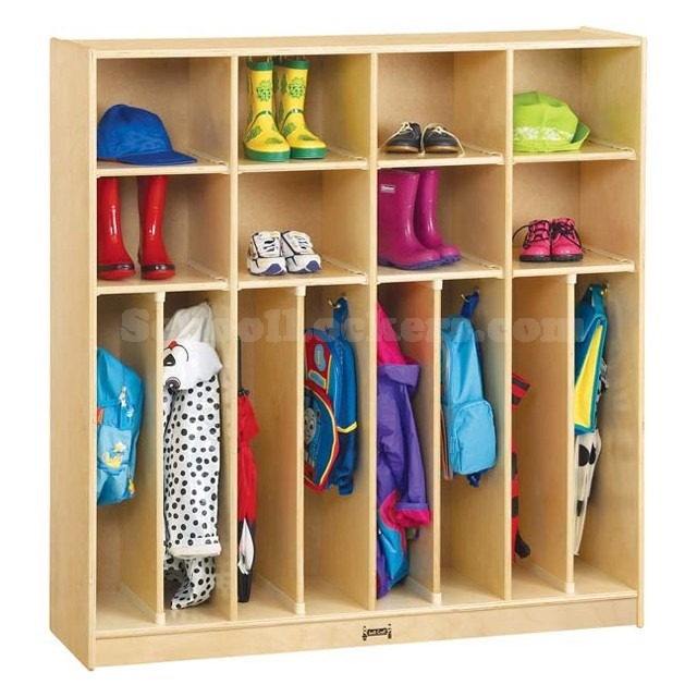 A Perfectly Organized Mudroom Just A Girl And Her Blog: 8 Ways Lockers Can Help With Your Spring Cleaning