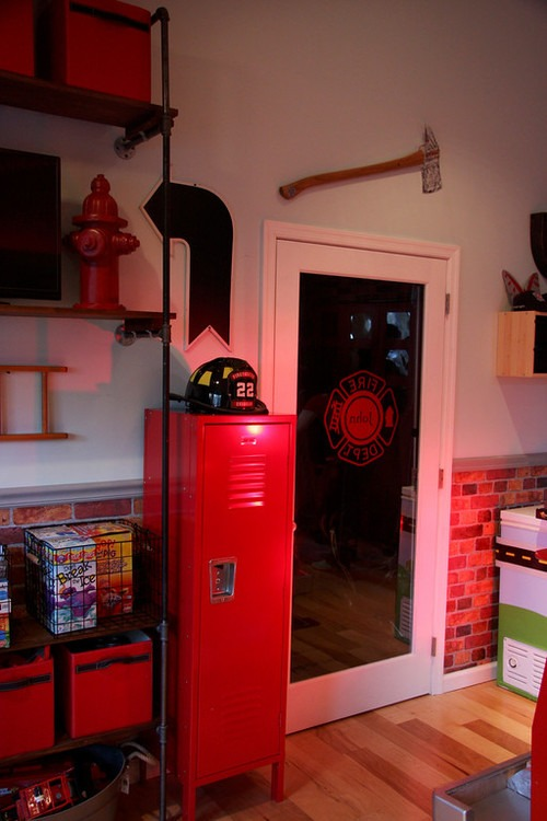A Firefighter Room Fit For A King School Lockers Blog