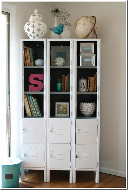 Use Lockers To Organize
