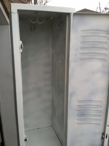 get a locker primed for painting