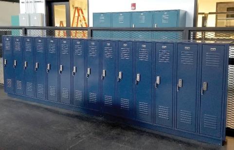 metal lockers, electronic lockers, electronic locks